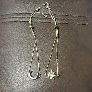 Avon Moon & Star Bracelets